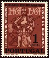 Portugal 1965 500 Years of Bragança City a