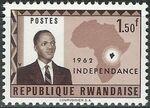 Rwanda 1962 Independence d