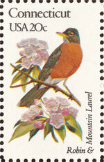 United States of America 1982 State birds and flowers g