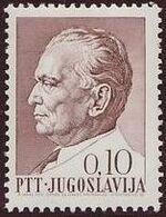 Yugoslavia 1967 75th Birthday of President Tito b