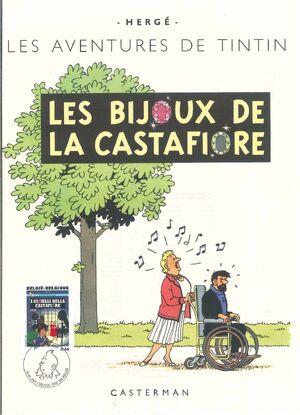 Belgium 2007 Tintin book covers translated zao