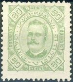 Cape Verde 1893-1895 Carlos I of Portugal i