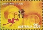 Christmas Island 2005 Year of the Rooster k