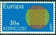 Cyprus 1970 EUROPA - CEPT b