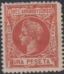Elobey, Annobon and Corisco 1903 King Alfonso XIII m