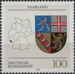 Germany, Federal Republic 1994 Coat of Arms of the Federal States of Germany (3rd Group) a