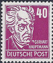 Germany DDR 1952 Famous People j