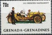 Grenada Grenadines 1983 The 75th Anniversary of Ford T e