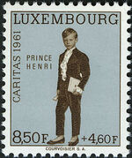 Luxembourg 1961 Prince Henri f