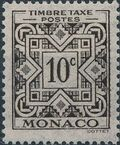 Monaco 1946 Postage Due Stamps a
