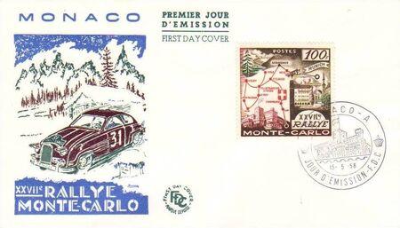 Monaco 1958 27th Monte Carlo Automobile Rally b