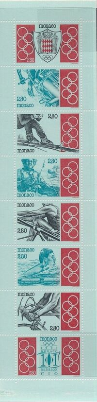 Monaco 1993 101st Session International Olympic Committee Ba