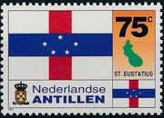 Netherlands Antilles 1995 Flags and Coats of Arms of Island Territories e