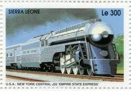 Sierra Leone 1995 Railways of the World 4d