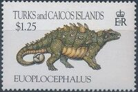 Turks and Caicos Islands 1993 Prehistoric Animals h