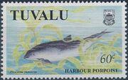 Tuvalu 1998 Dolphins and Porpoises c