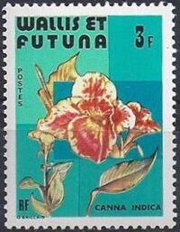 Wallis and Futuna 1982 Flowers c