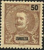Zambezia 1903 D. Carlos I c