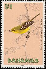 Bahamas 1991 Birds m