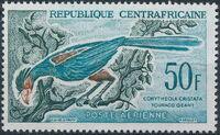 Central African Republic 1962 Birds a