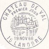 France 1966 Tourism - Val Chateau Pma
