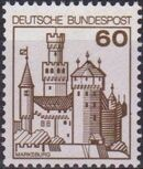 Germany, Federal Republic 1977 Strongholds and Castles e
