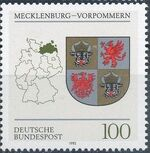 Germany, Federal Republic 1993 Coat of Arms of the Federal States of Germany (2nd Group) b