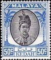 Malaya-Kedah 1950 Definitives l