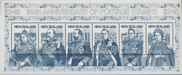 New Zealand 1990 150th Anniversary of the First Postage Stamps g