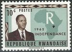 Rwanda 1962 Independence a