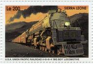 Sierra Leone 1995 Railways of the World ea