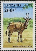 Tanzania 1995 African Hoofed-animals f