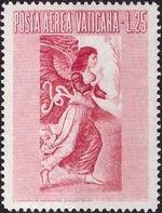 Vatican City 1956 Archangel Gabriel d