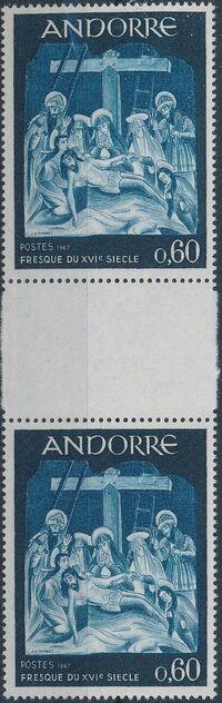 Andorra-French 1967 Frescoes f