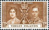 British Virgin Islands 1937 George VI Coronation b