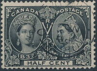 Canada 1897 60th Year of Queen Victoria's Reign a