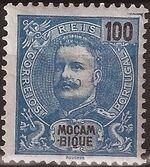 Mozambique 1898 D. Carlos I j
