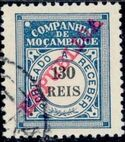 "Mozambique Company 1911 Postage Due Stamps Overprinted ""REPUBLICA"" h"