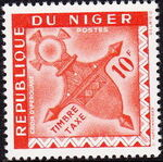 Niger 1962 Cross of Agadez - Postage Due Stamps f