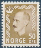 Norway 1951 King Haakon VII d