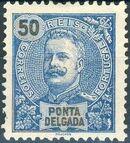 Ponta Delgada 1897 D. Carlos I g