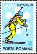 Romania 1971 Olympic Games Sapporo' 72 c