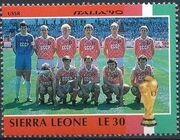 Sierra Leone 1990 Football World Cup in Italy k