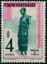 Timor 1948 Native People c