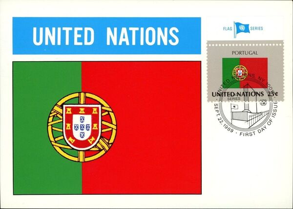 United Nations-New York 1989 Flag Series MCf