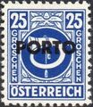 Austria 1946 Occupation Stamps of the Allied Military Government Overprinted in Black i.jpg