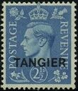 "British Offices in Tangier 1949 King George VI Overprinted ""TANGIER"" b"