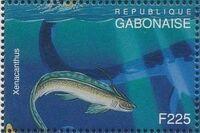 Gabon 1995 Prehistoric Wildlife p