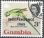 Gambia 1965 Birds Overprinted f