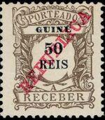 Guinea, Portuguese 1911 Postage Due Stamps e